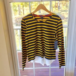 Tommy Hilfiger NWT Long Sleeve Top